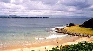 Tilbury Cove, a reserve at Culburra Beach, South Coast, NSW