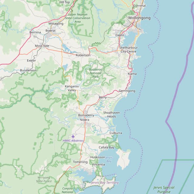 Berry Nsw Map Berry, South Coast NSW