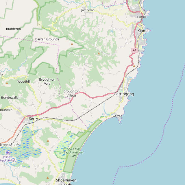 map of gerringong