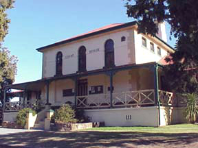 Moruya's Historical Court House, South Coast, NSW